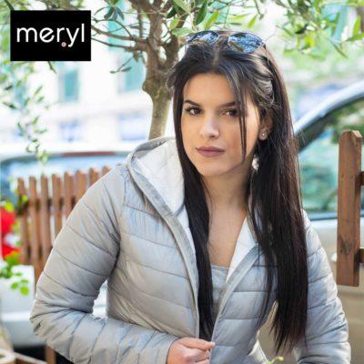 Giubbino Meryl con cappuccio